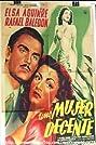 Una mujer decente (1950) Poster