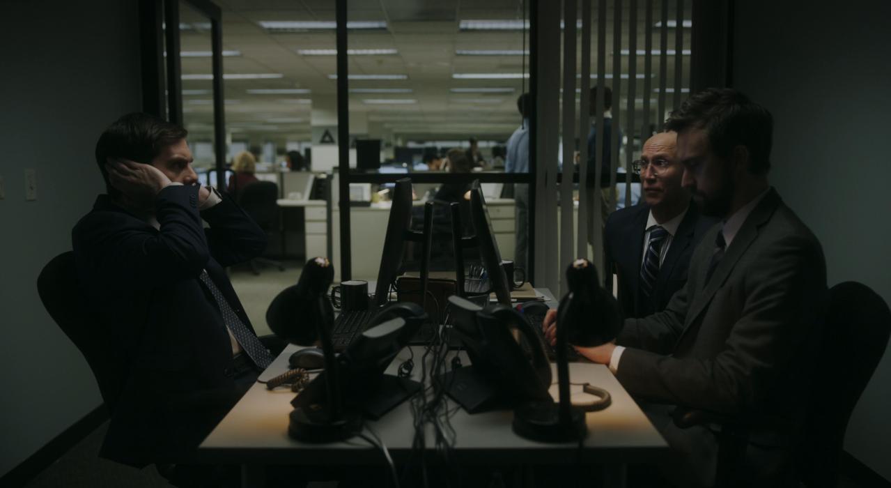 Adam Lustick, Matt Ingebretson, and Jake Weisman in Good Job (2020)