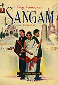 Sangam (1964) Poster - Movie Forum, Cast, Reviews