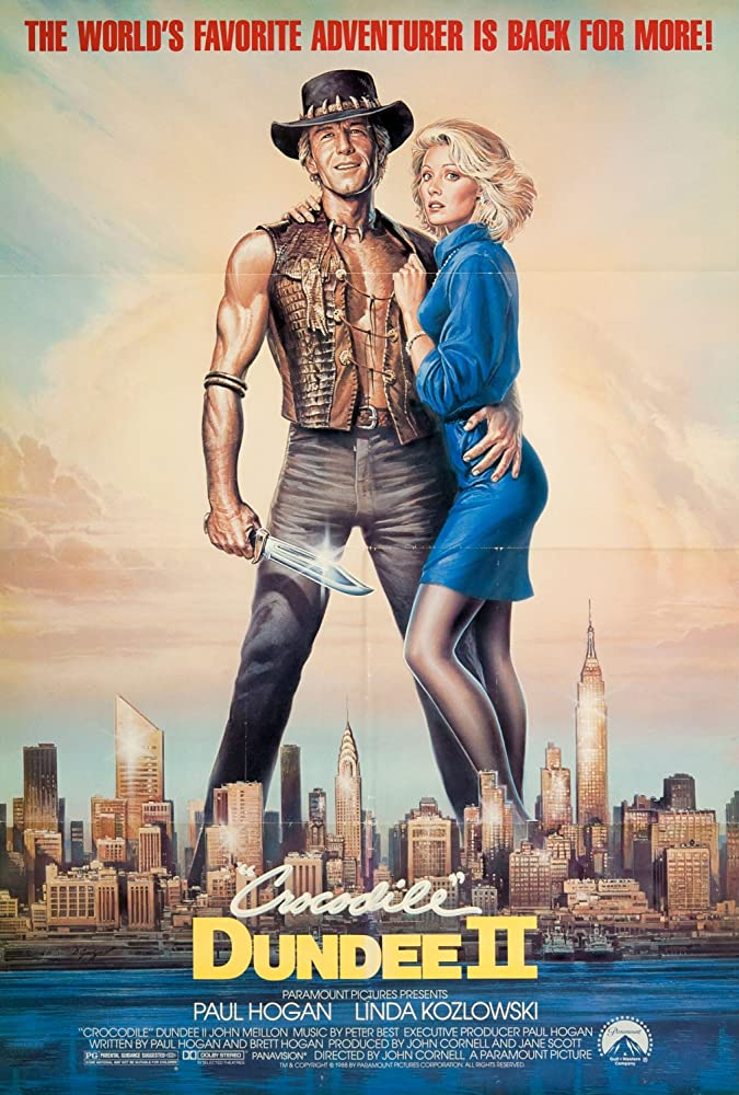 Crocodile Dundee II (1988) Hindi Dual Audio 720p BluRay ESubs 815MB Download