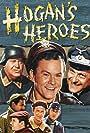 John Banner, Robert Clary, Bob Crane, Richard Dawson, Ivan Dixon, Larry Hovis, and Werner Klemperer in Hogan's Heroes (1965)