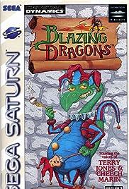 Blazing Dragons Poster