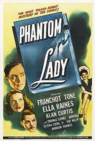 Alan Curtis, Aurora Miranda, Ella Raines, and Franchot Tone in Phantom Lady (1944)