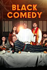 Black Comedy Poster
