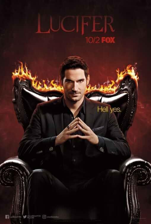 Tom Ellis in Lucifer (2015)