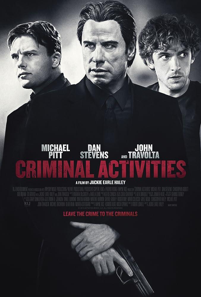 Poster film Criminal Activities.