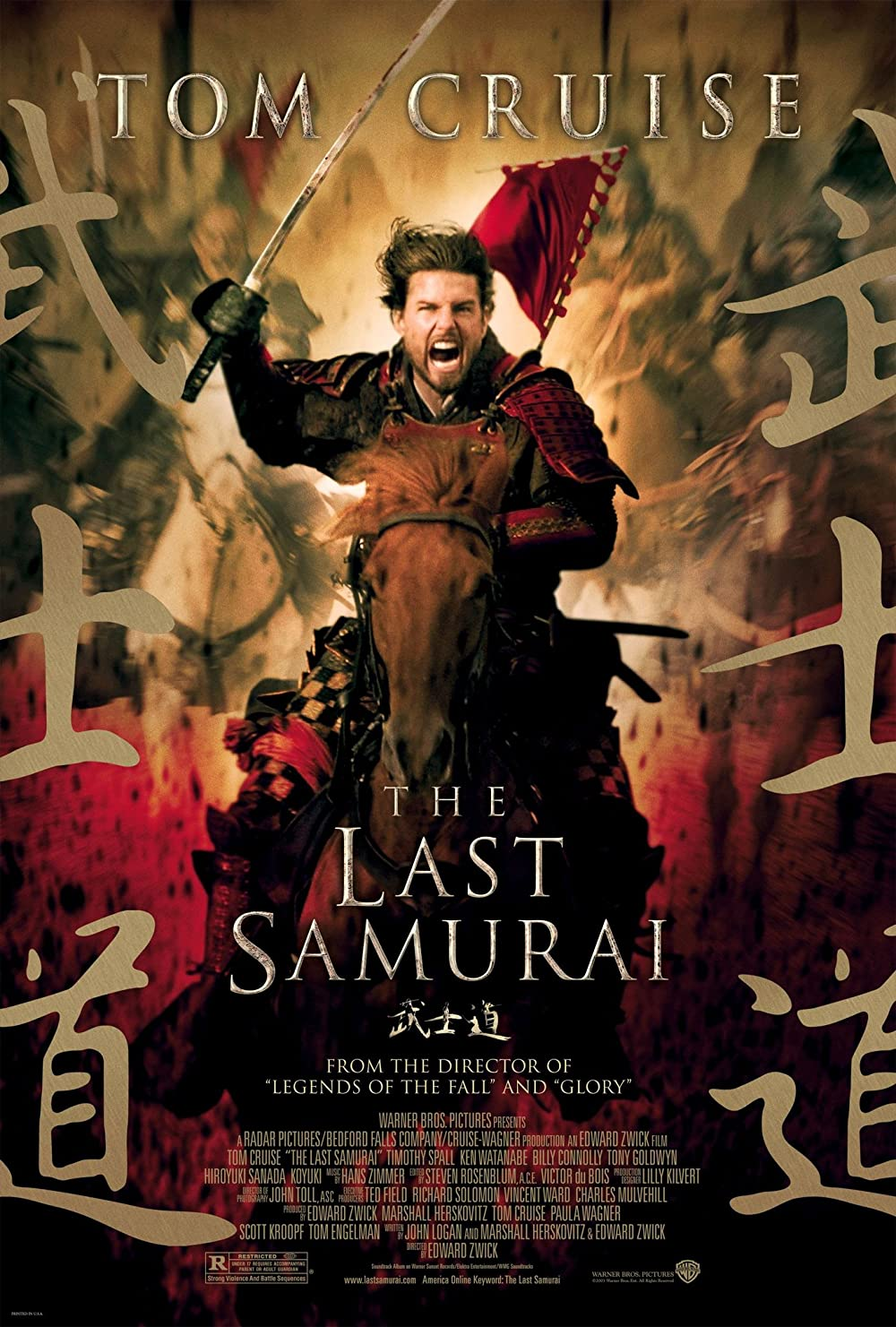 The Last Samurai 2003 Hindi Dual Audio 570MB BluRay ESubs Download