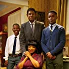 Forest Whitaker, Oprah Winfrey, David Oyelowo, Isaac White, and Michael Rainey Jr. in The Butler (2013)