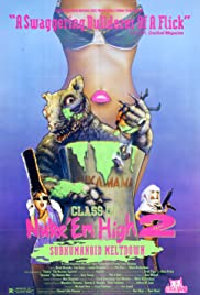 Class of Nuke 'Em High Part II: Subhumanoid Meltdown Poster