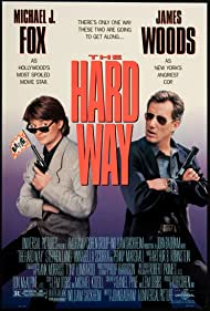 Michael J. Fox and James Woods in The Hard Way (1991)