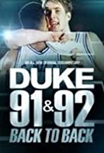 Duke 91 & 92: Back to Back
