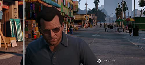 Grand Theft Auto V: Ps3 Ps4 Comparison (Brazil)