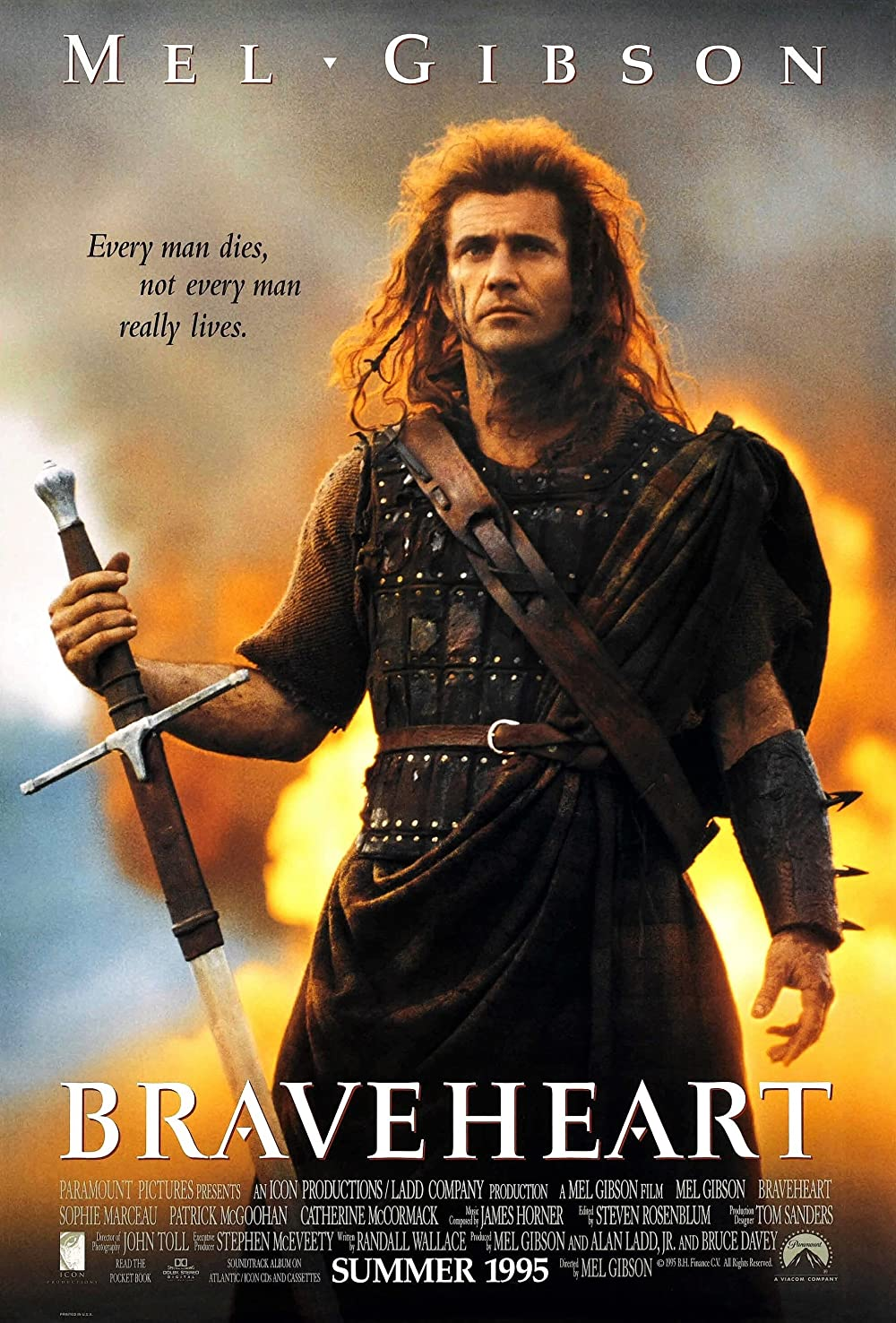 Braveheart 1995 Hindi Dual Audio 480p BluRay ESubs 650MB x264 AAC