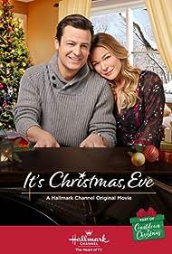 LeAnn Rimes and Tyler Hynes in It's Christmas, Eve (2018)