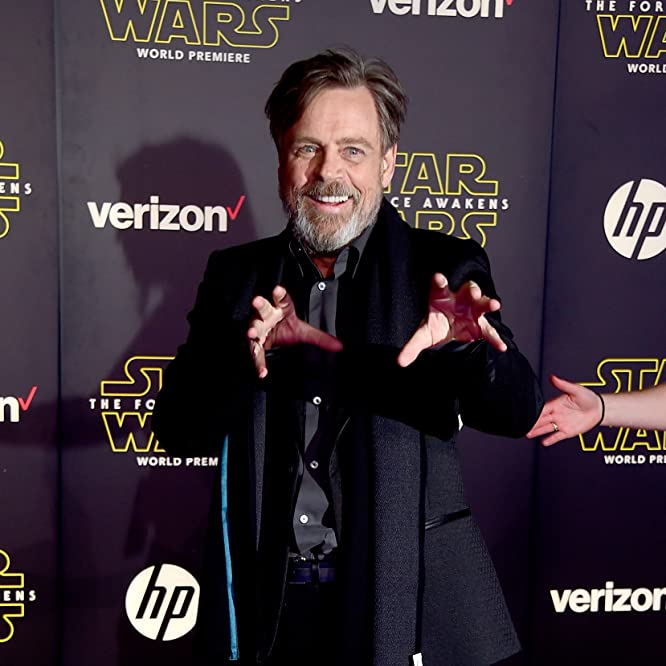 Mark Hamill at an event for Star Wars: Episode VII - The Force Awakens (2015)