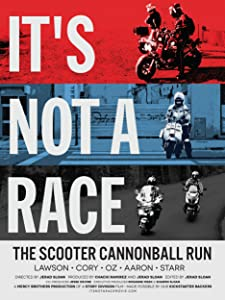 It's Not A Race: The Scooter Cannonball Run