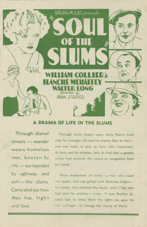 James Bradbury Jr., William Collier Jr., Blanche Mehaffey, and Murray Smith in Soul of the Slums (1931)