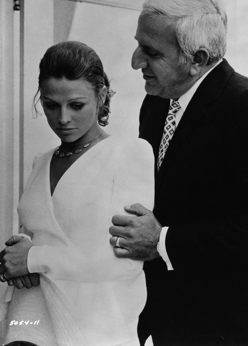 Julie Christie and Adolfo Celi in In Search of Gregory (1969)
