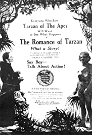 The Romance of Tarzan Poster
