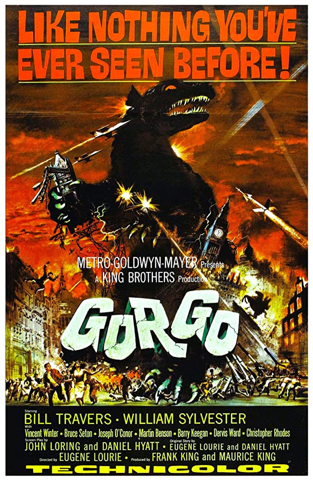 William Sylvester and Bill Travers in Gorgo (1961)