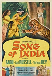 Song of India Poster