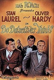 Do Detectives Think?(1927) Poster - Movie Forum, Cast, Reviews