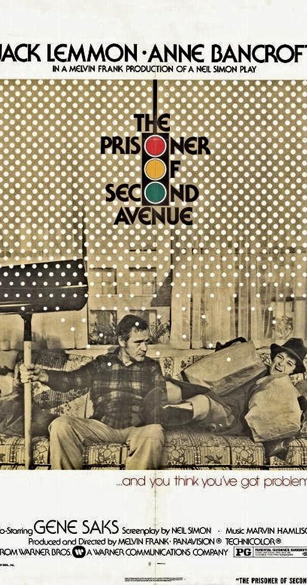 Subtitle of The Prisoner of Second Avenue