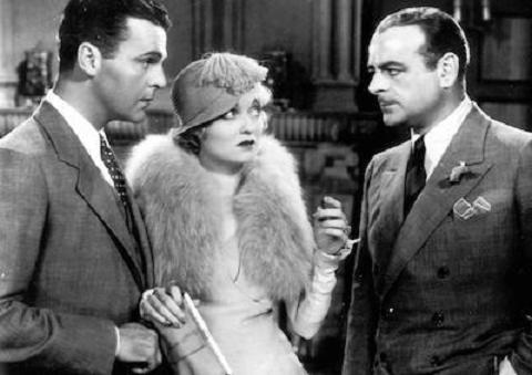 Constance Bennett, Neil Hamilton, and Lowell Sherman in What Price Hollywood? (1932)
