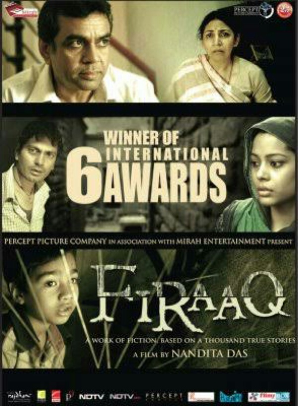 Firaaq 2008 Hindi Full Movie 300MB WEBRip ESub Download