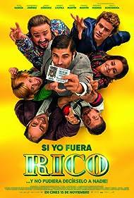 Diego Martín, Jordi Sánchez, Álex García, Paula Echevarría, Alexandra Jiménez, Adrián Lastra, and Franky Martín in Si yo fuera rico (2019)