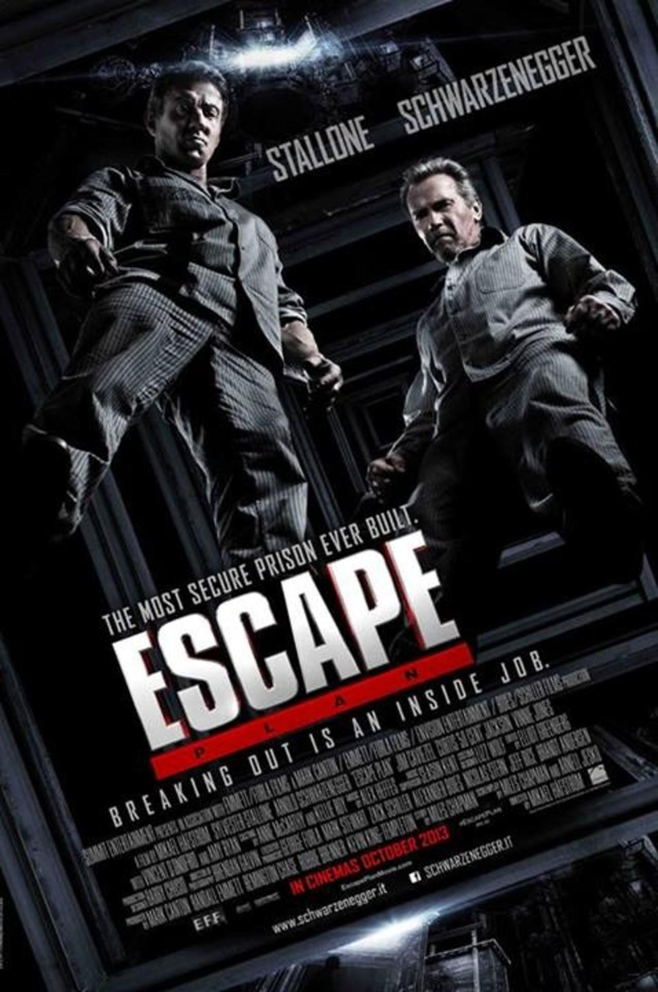 Escape Plan 2013 Dual Audio Hindi 300MB BluRay 480p ESubs Download