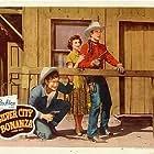 Buddy Ebsen, Rex Allen, and Mary Ellen Kay in Silver City Bonanza (1951)