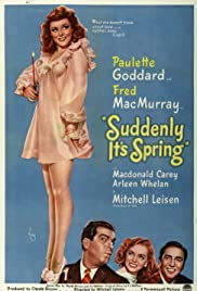 Suddenly It's Spring Poster