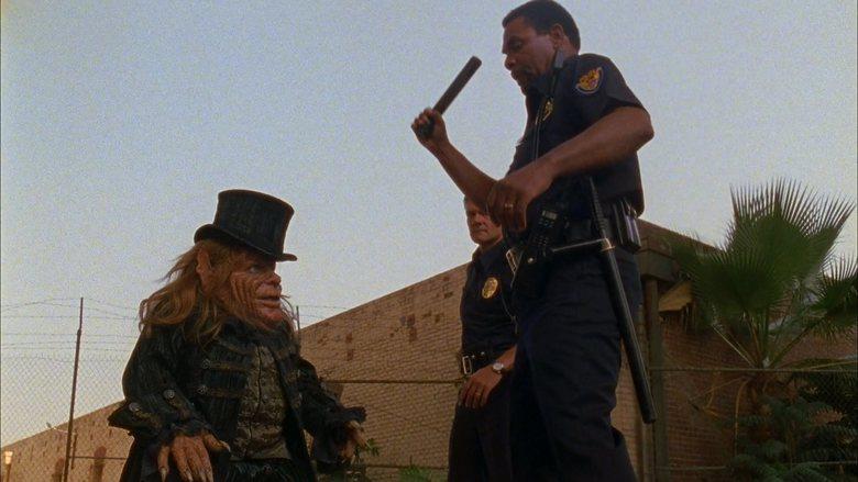 Warwick Davis, Beau Billingslea, and Christopher Murray in Leprechaun: Back 2 tha Hood (2003)
