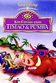 On Holiday with Timon & Pumbaa Poster
