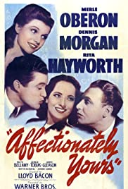 Affectionately Yours Poster