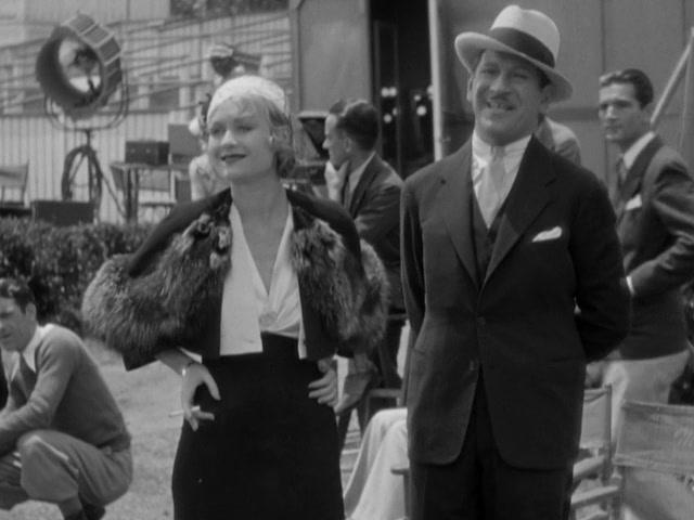 Constance Bennett and Gregory Ratoff in What Price Hollywood? (1932)