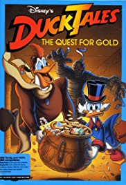 DuckTales: The Quest for Gold Poster