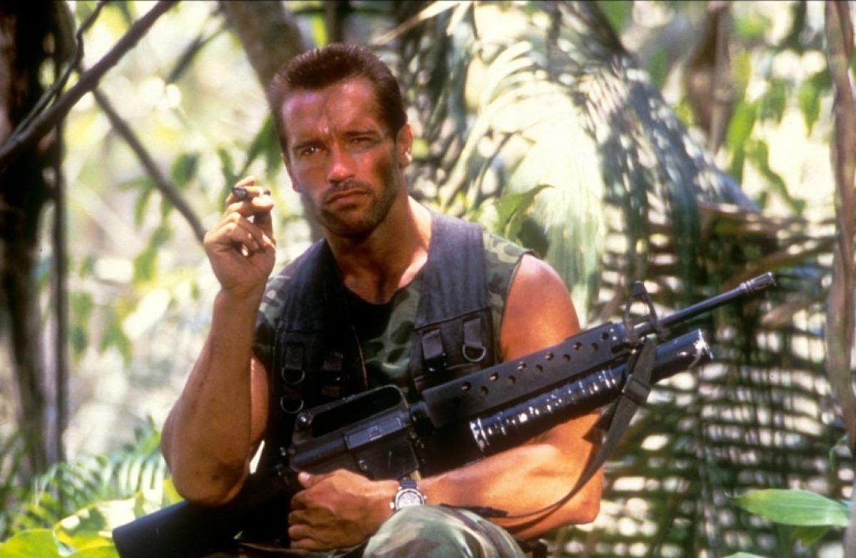 Arnold Schwarzenegger in Predator 1987