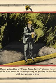 John Bowers and Lon Chaney in Quincy Adams Sawyer (1922)