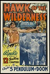 Bruce Bennett, William Royle, and Dick Wessel in Hawk of the Wilderness (1938)