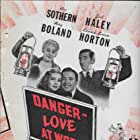 Edward Everett Horton, Mary Boland, Jack Haley, and Ann Sothern in Danger - Love at Work (1937)