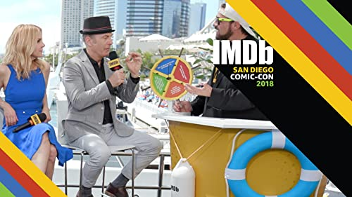 """Best """"Captain's Wheel"""" Moments: Celebrities at San Diego Comic-Con"""