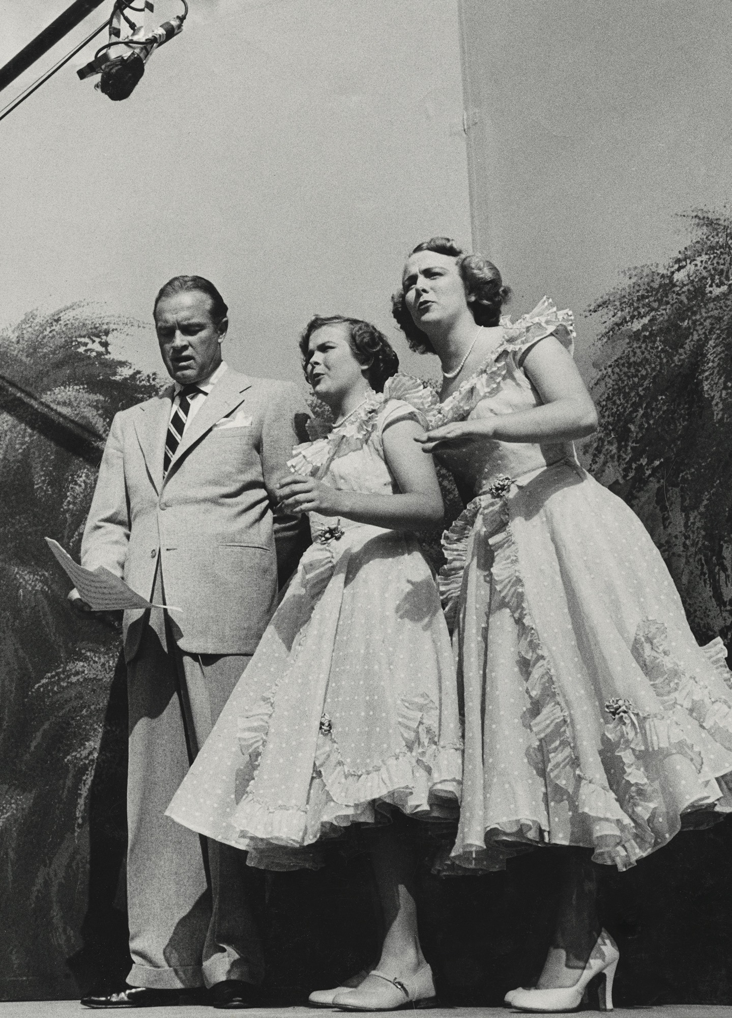 Bob Hope and The Bell Sisters in Four Star Revue (1950)