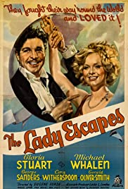 The Lady Escapes Poster