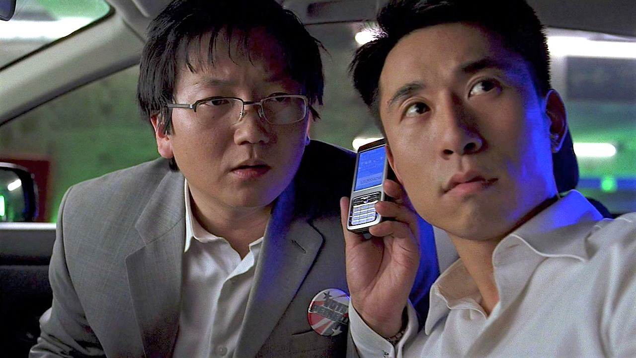 Masi Oka and James Kyson in Heroes (2006)
