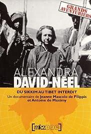 Alexandra David-Néel Poster