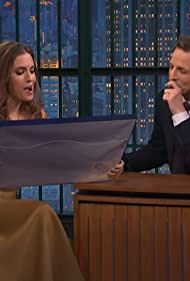 Seth Meyers in Allison Williams Reads a Letter She Wrote to R.L. Stine in 1996 (2014)
