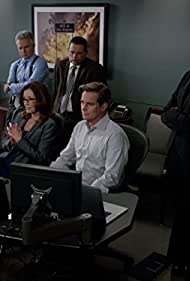 Mary McDonnell, Raymond Cruz, Tony Denison, Phillip P. Keene, and Kearran Giovanni in Major Crimes (2012)