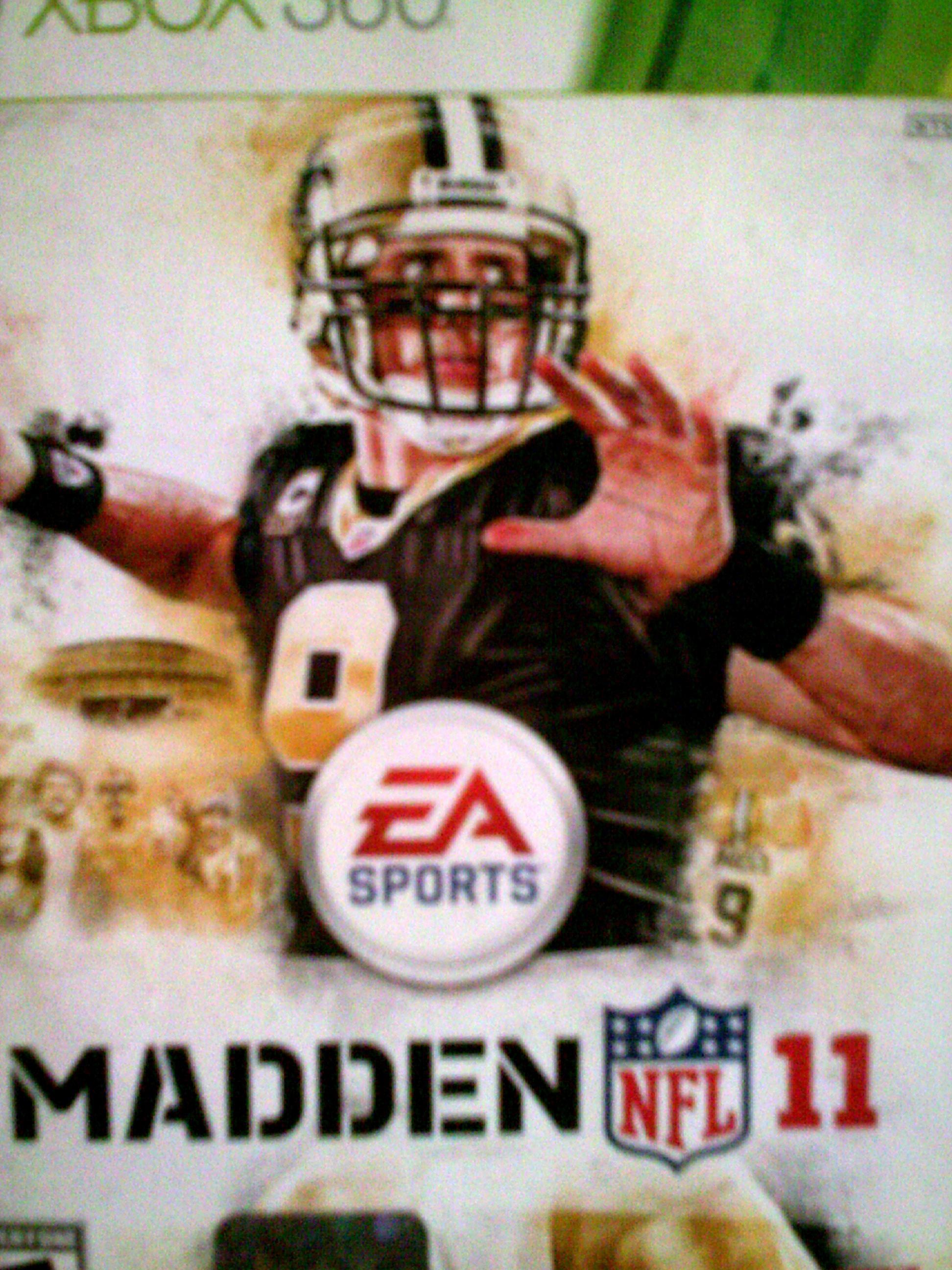 Drew Brees in Madden NFL 11 (2010)